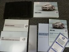 2011 Volvo C70 Convertible Owner Owner's Manual User Guide Set T5 2.5L