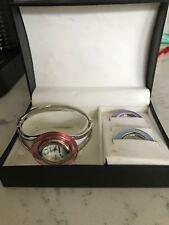 Vintage 1990's COSMOPOLITAN Hearst Bracelet Watch Interchangeable Bezel VGC