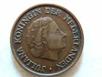 1950 Netherlands Five (5) Cent Coin