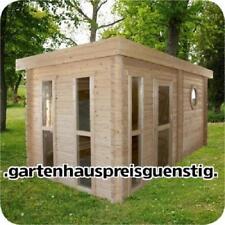 Agande Saunahaus Blockbohlensauna Sauna Gartensauna Aussensauna, 45mm 45393