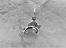 "Sterling Silver (925)  Solid 3D Charm ""Marlin"""