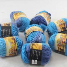 Venta 1 ballx 50g Nuevo Suave Grueso Colorido mano tejer hilado de lana chal bufanda 829