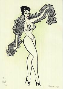 original drawing A4 517KV art samovar modern Mixed Media women Signed 2021