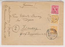 Bizone/AM-Post, Mi. 13, 20, 24, Hannover, 15.3.46
