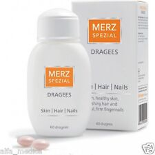 Merz Spezial 60 dragees vitamins & minerals for BEAUTY & STRONG Hair Skin Nails