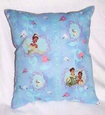 New Disney Handmade Princess And The Frog Princess Tiana Prince Naveen Pillow