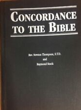 Concordance to the Bible by Raymond Stock and Newton Thompson BRAND NEW