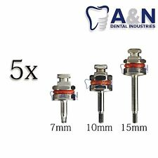5 Hex Drivers 1.25 mm for Abutment Dental Implant Surgical Instrument​s