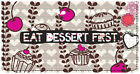 Smirk Sweet Treats Leather Checkbook Cover