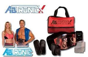 New AbTronic X2 Dual Fitness Belt Slimming Belt Vibration Belt Slim weight loss