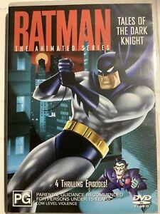 BATMAN : TALES OF THE DARK KNIGHT - DVD Region 4 - Animated Series LIKE NEW COND