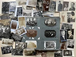 Ansichtskarten - Album mit 168stk. Foto AK Deutschland 1900-1950