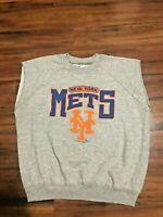 Vintage 80's New York Mets  MLB Crewneck Sweatshirt Single Stitched XL