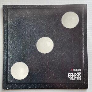 GENESIS Invisible Touch Tour 1986 CONCERT PROGRAM Land Of Confusion PHIL COLLINS