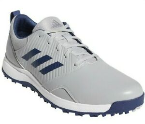 Adidas CP Traxion Golf Shoes Men's Size 10 Gray Indigo Blue Spikeless Cleats G