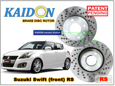 "Suzuki Swift disc rotor KAIDON (front) type ""RS"" spec"