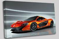 McLaren Sport Car Canvas Wall Art Picture Print