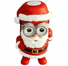 Father Christmas Portable Bluetooth Enabled Speaker with Minion Glasses!