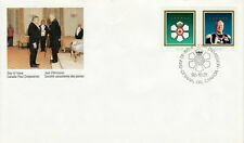 CANADA #1446-1447 42¢ ORDER OF CANADA FIRST DAY COVER - A