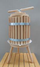 Wooden Wine Press 30 Liters 8 Gallon Fruit Crusher Wine Making