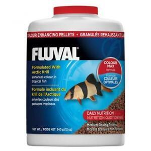 Fluval - Colour Enhancing Sinking Pellet - Med Tropical Fish