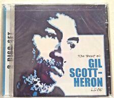 The Best of Gil Scott-Heron Live by Gil Scott-Heron (CD, Jul-2004, 2 Discs, Inte