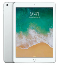 "Apple iPad 2018 6th Gen 9.7"" 128GB 4G Wi-Fi + Cellular Factory Unlocked Silver"