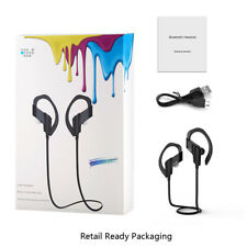 Wireless Bluetooth Sporty Hands-Free Headset - Jet Black