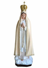 "STATUA Madonna di Fatima cm.98  - OUR LADY  of Fatima 39"" Polyester"