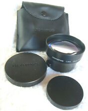 OLYMPUS DIGITAL CAMERA: 1.45X  TELE CONVESION LENS 46mm FIT,UNUSED IN POUCH.