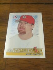 2000 Topps Chrome #236 Mark McGwire - St. Louis Cardinals - 1st Career HR    ZB0