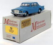 Milestone Miniatures 1/43 Scale MM1 - 1960 Chrysler Valiant - Blue