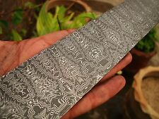 MOSAIC DAMASCUS STEEL BILLET FOR KNIFE MAKING