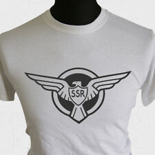 Captain America SSR Logo T Shirt Super Hero Marvel Dc Comic Book New Cool Charco
