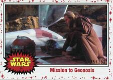 Star Wars The Last Jedi White Base Card [199] #54 Mission to Geonosis