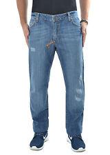 FRANKIE MORELLO Jeans cuciture a contrasto cinque tasche PROMO