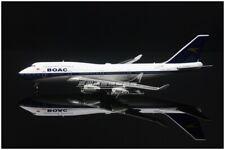 1:400 GeminiJets BRITISH AIRWAYS BOAC B747-400 Passenger Airplane Diecast Model