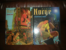 ALVIN NORGE - LOT DES 2 PREMIERS TOMES - LE 1 EN EDITION ORIGINALE COTE 20 EUROS