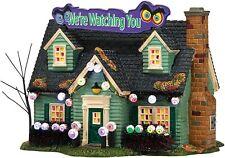 Department 56 Snow Village Halloween Glares & Stares House New 4036590 Retired