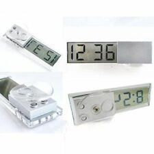 Electronic Home Car Windshield Display Digital LCD Clock Decoration