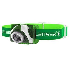 kQ LED LENSER SEO3 Stirnlampe Kopflampe grün weiß 6003 SEO 3 Lampe