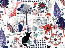 Alexander Henry WONDERLAND Woodland Animals Fabric