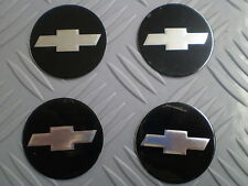 NOS Chevrolet Chevy Center Hub Cap INSERT EMBLEM Stickers 1 5/8 inch SET of 4