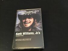 HANK WILLIAMS JR's Greatest Hits - 1982 Warner VINTAGE CASSETTE TAPE