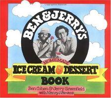 Ben & Jerrys Homemade Ice Cream & Dessert Book by Ben Cohen, Jerry Greenfield,