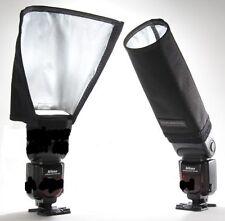 Universal Foldable Snoot Flash Beam Cloth Softbox Diffuser Tube for Canon Nikon