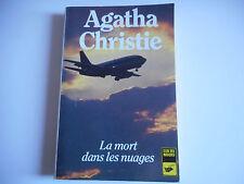 LA MORT DANS LES NUAGES - AGATHA CHRISTIE - CLUB DES MASQUES 1989