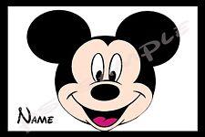 4x6 Disney Cruise Stateroom Door Magnet - MICKEY HEAD - Personalized