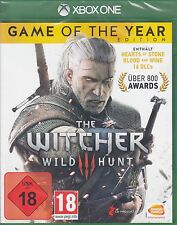 The Witcher 3 - Wild Hunt - Game of the Year Edition GOTY - Xbox One - NEU & OVP