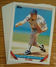 1993 Topps Baseball - You Pick Any 20 Cards to Complete Your Set - Stars Rookies